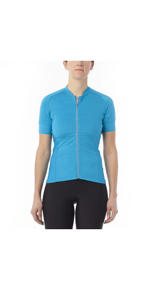 Giro Ride LT Jersey Women blue jewel solid